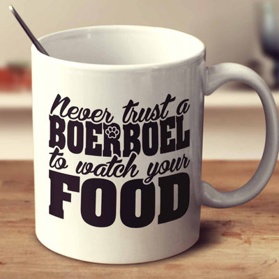 Never Trust A Boerboel To Watch Your Food