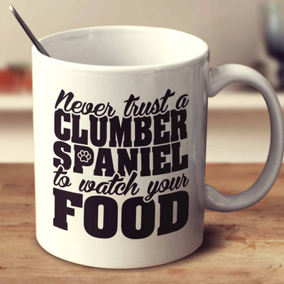 Never Trust A Clumber Spaniel To Watch Your Food