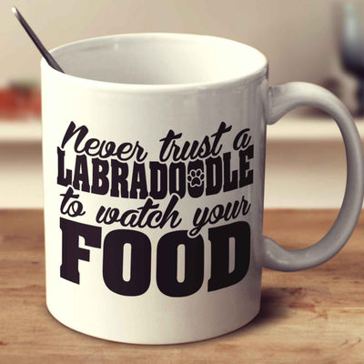 Never Trust A Labradoodle To Watch Your Food