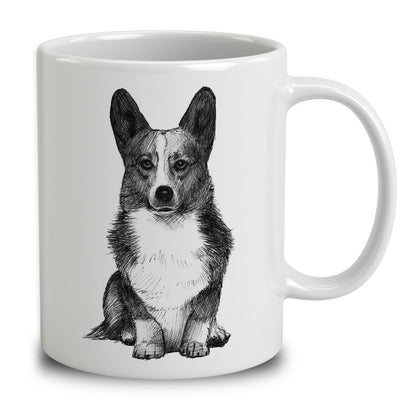 Pembroke Welsh Corgi Sketch