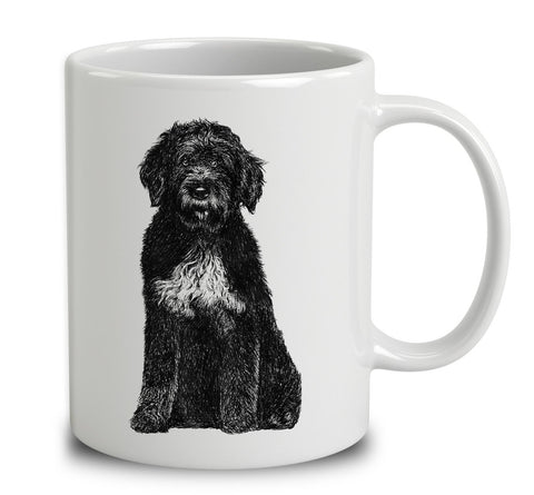Portuguese Water Dog Sketch