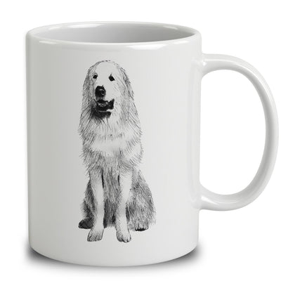 Pyrenean Mountain Dog Sketch