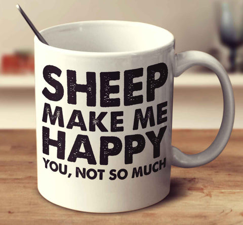 Sheep Make Me Happy