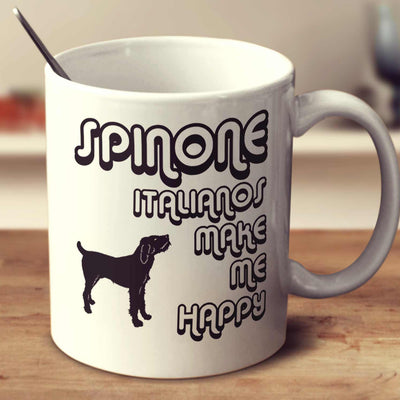 Spinone Italianos Make Me Happy 2