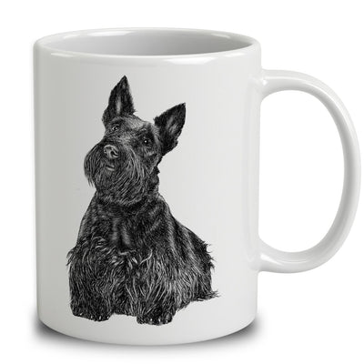 Scottish Terrier Sketch