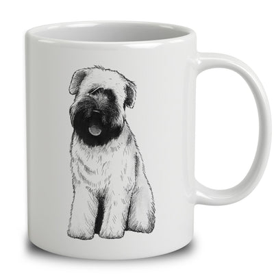 Soft-Coated Wheaten Terrier Sketch