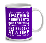Teaching Assistants Make A Difference One Student At A Time