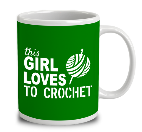 This Girl Loves To Crochet