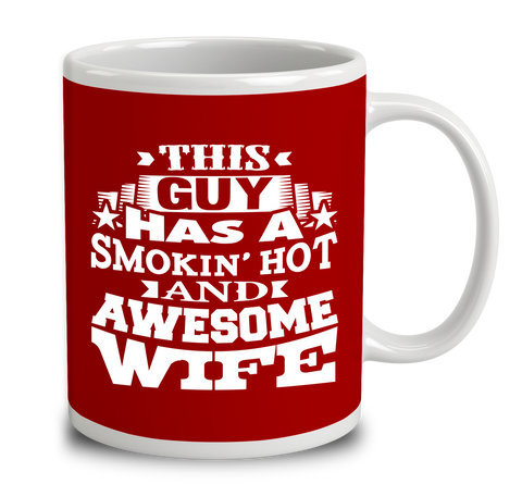 This Guy Has A Smokin Hot And Awesome Wife