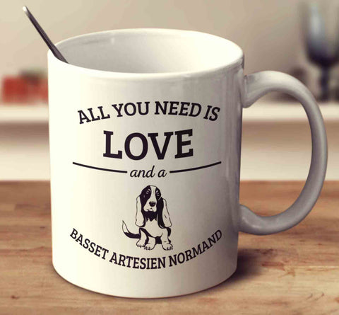 All You Need Is Love And A Basset Artesien Normand