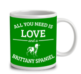 All You Need Is Love And A Brittany Spaniel