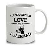 All You Need Is Love And A Doberman