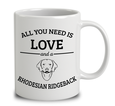 All You Need Is Love And A Rhodesian Ridgeback
