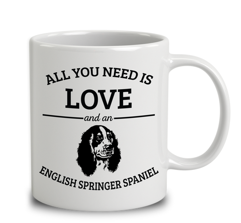 All You Need Is Love And An English Springer Spaniel