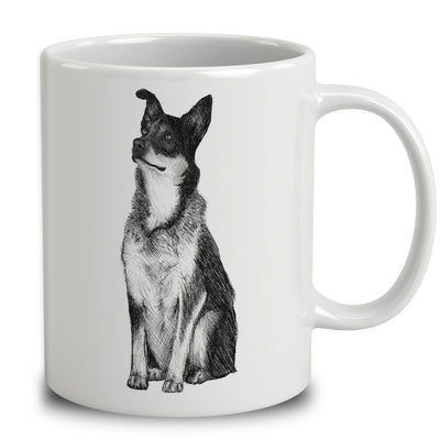 Australian Cattle Dog Sketch