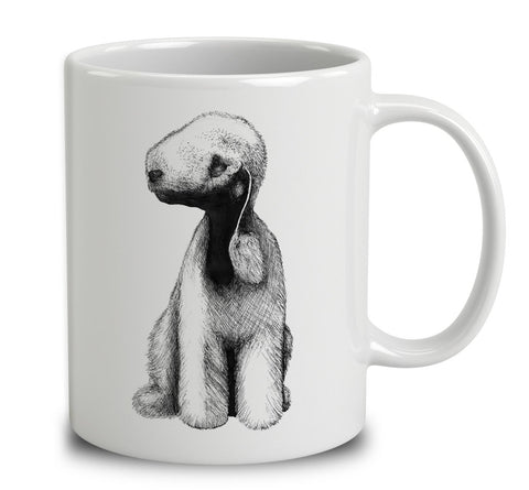 Bedlington Terrier Sketch