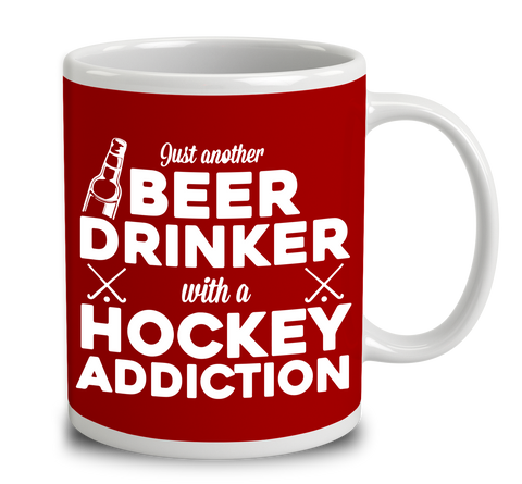 Beer Drinker With A Hockey Addiction