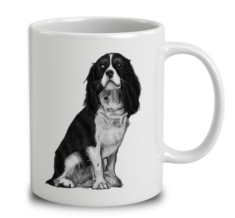 Cavalier King Charles Terrier Sketch