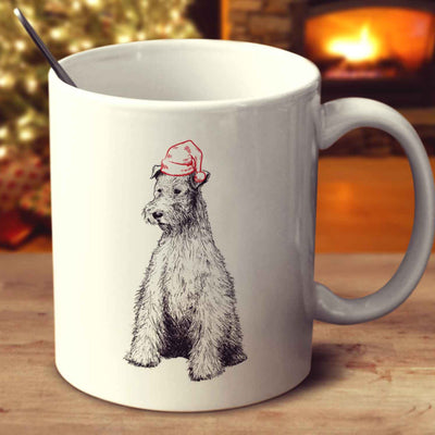 Christmas Fox Terrier