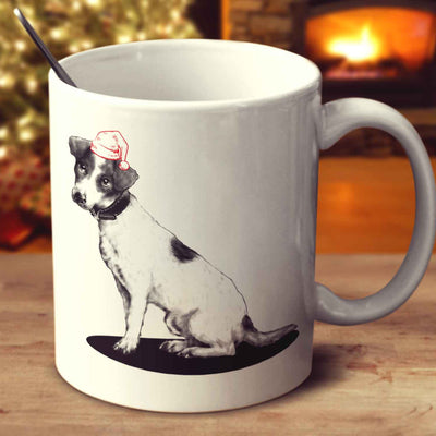 Christmas Jack Russell Terrier