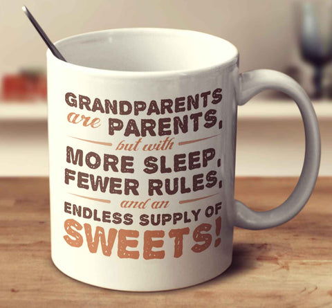 Grandparents Are Parents, But With More Sleep, Fewer Rules, And An Endless Supply Of Sweets