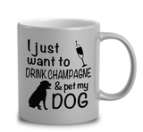 I Just Want To Drink Coffee & Pet My Dog