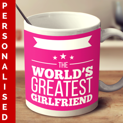 The World's Greatest Girlfriend Mug