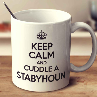 Keep Calm And Cuddle A Stabyhoun