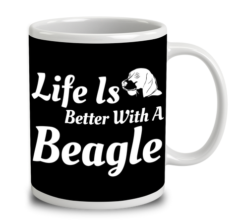 Life Is Better With A Beagle