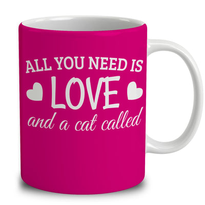Personalized All You Need Is Love And A Cat Called
