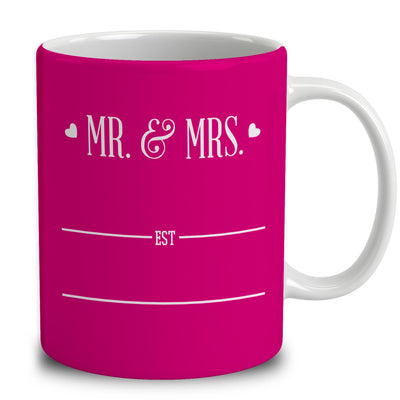 Personalized Mr and Mrs