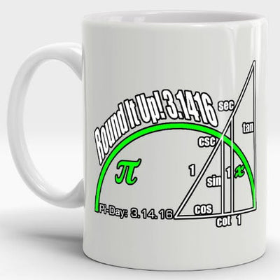 Pi Day Mugs
