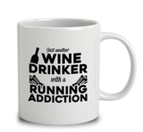 Wine Drinker With A Running Addiction