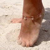 Anklets Sparkle Up