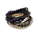 Bracelet Multi-Layers Dark Paradise - Oksinya - 1