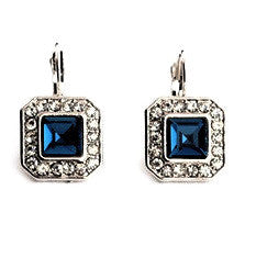 Earrings Sapphire Lady - Oksinya