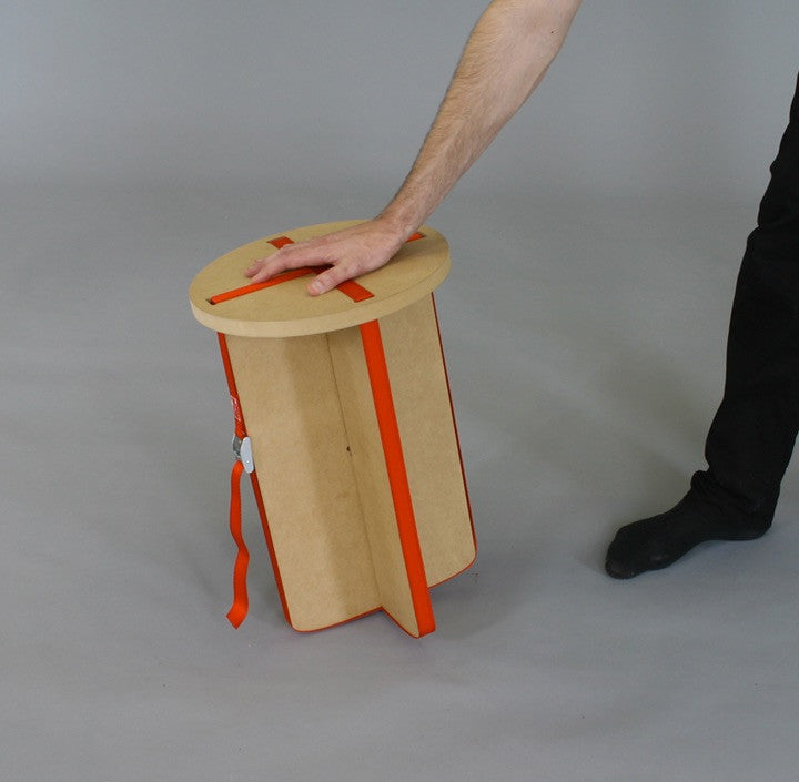 TABOURET TWIST de Thomas Piquet