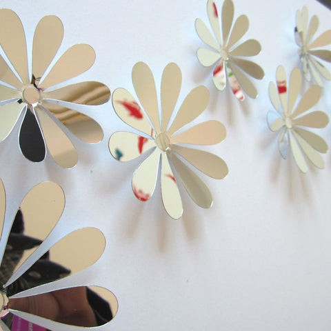 12 pc. Flower Wall Stickers - 25 Main Street  - 1