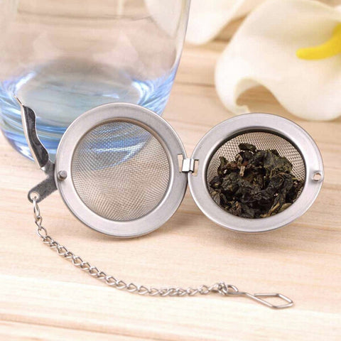 Stainless Steel Metal Tea Ball Infuser - 25 Main Street  - 1