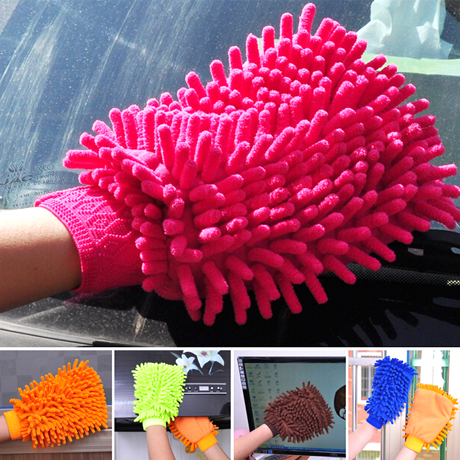 Microfiber Car-Washing Gloves - 25 Main Street  - 1