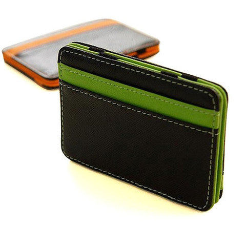 Leather Card Case - Assorted Colors - 25 Main Street  - 1