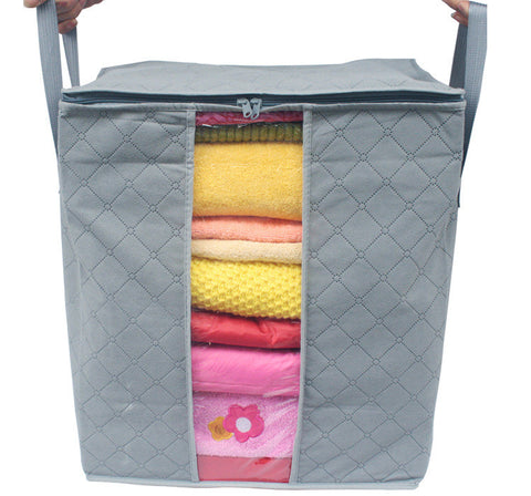 Natural Bamboo Fiber Storage Bag & Laundry Basket - 25 Main Street  - 1