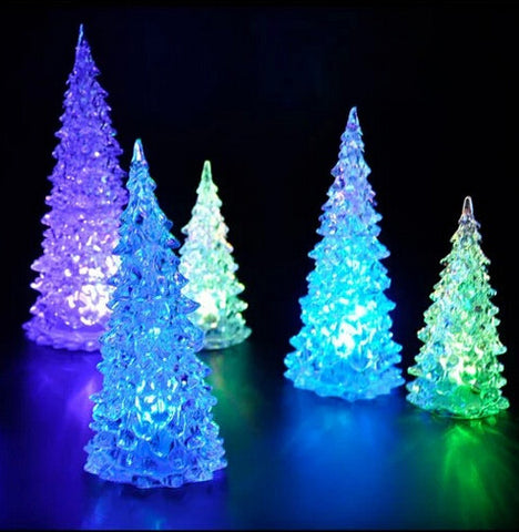 LED Crystal Christmas Trees - 25 Main Street  - 1