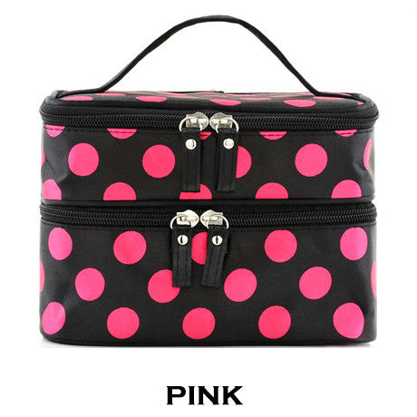 Polka Dot Make Up Bag - Assorted Colors - 25 Main Street  - 1