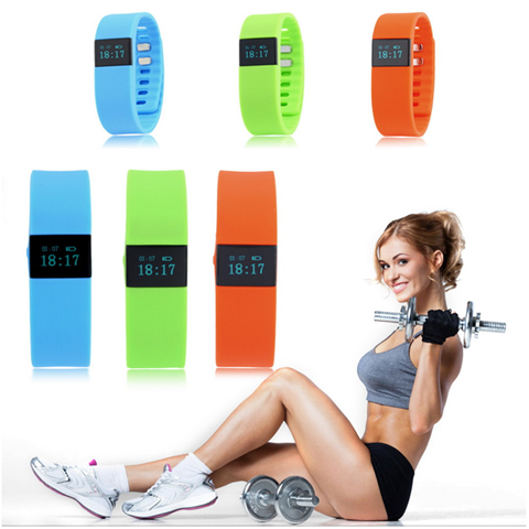 Bluetooth TW64 Smart Wristband Fitness Watch and Sleep Tracker - Assorted Colors - 25 Main Street  - 1