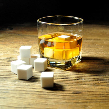 6 Pack White Whiskey Ice Stones - 25 Main Street