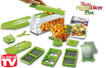 Nicer Dicer Plus - 11 Pc. Set - 25 Main Street  - 1