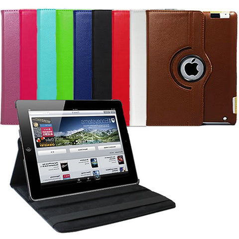iPad Mini Rotating Leather Case - 25 Main Street  - 1