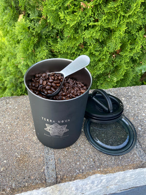 Terra Nova Coffee Canister + Scoop