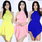 ROMPER color: Blue, pink , yellow - Yolaboutique
